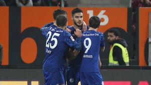 Ozan Kabakın gol attığı maçta gülen Schalke 04 oldu