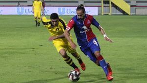 Altınordu: 1 - İstanbulspor: 1