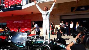 Formula 1de Lewis Hamilton şampiyonluğunu ilan etti