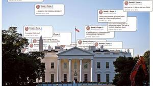 Trumpın Twitter kullanımı mercek altında