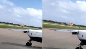 ABDde gösteri uçağı düştü: 1 ölü