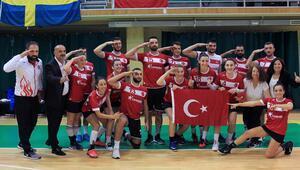 Türk Korfbol takımımız Avrupa Şampiyonası'nda