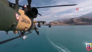 ATAK helikopteriyle Van gölü turu
