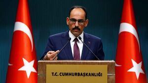 Cumhurbaşkanlığı Sözcüsü İbrahim Kalın açıklamalarda bulundu