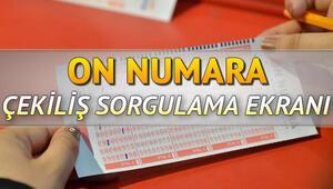 MPİ On Numara çekiliş sorgulama ekranı | 4 Kasım On Numara çekilişi tamamlandı