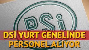 DSİ işçi alımı için ilan yayımladı İŞKUR DSİ işçi alımı başvurusu nasıl yapılır