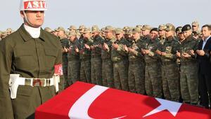 Şehit Topçunun cenazesi memleketi Osmaniyeye uğurlandı