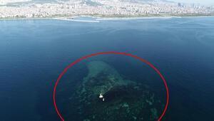 İstanbulda depremlerle battı... O ada böyle görüntülendi