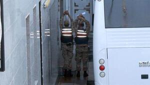 Jandarma ekipleri görüntülenmesine böyle engel oldu