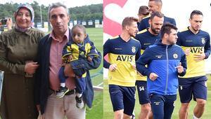 Parmak Çocuk Fenerbahçe idmanında
