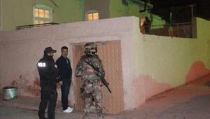 Konyada 200 polisle narkotik ve asayiş operasyonu