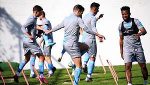 Trabzonda taktik mesaisi Karaman...