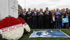 Ecevit, ölümünün 13üncü yılında mezarı başında anıldı