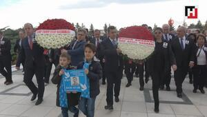 Bülent Ecevit vefatının 13'üncü yılında mezarı başında anıldı