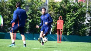 Medipol Başakşehir, Wolfsberger maçı hazırlıklarını sürdürdü