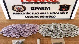 Ispartada uyuşturucu operasyonları