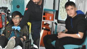 Sivasta panik 5 lise öğrencisi hastaneye kaldırıldı