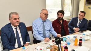 Başkan Ergün, Galericiler Sitesi esnafı ile biraraya geldi
