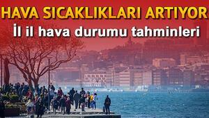 Hava sıcaklıkları yükseliyor 6 Kasım Çarşamba Türkiye geneli hava durumu tahminleri