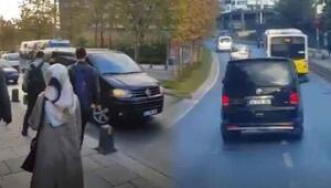 Kaçırılan kadını, otobüs şoförü kurtarmaya çalıştı