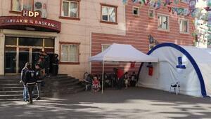 HDP önündeki eylemde 65inci gün