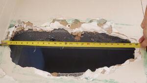 Californiada iki cinayet zanlısı, tuvaletin tavanını delerek kaçtı