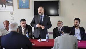 AK Partili Tekten Ovacıka ziyaret