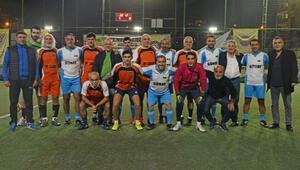 Cemil Turan, BVS Cup Turnuvasının başlama vuruşunu yaptı
