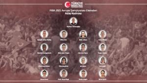 A Milli Kadın Basketbol Takımında aday kadro açıklandı
