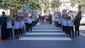 Kıbrıs İlkokulu önüne yaya geçidi