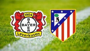 Bayer Leverkusen Atletico Madrid Şampiyonlar Ligi maçı saat kaçta ve hangi kanalda