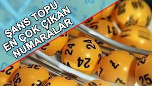 Şans Topu en çok çıkan numaralar hangileri