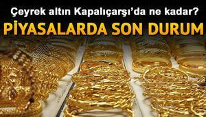 Çeyrek altın fiyatları çarşamba günü kapanışta ne kadar oldu 6 Kasım güncel gram, yarım ve tam altın fiyatları