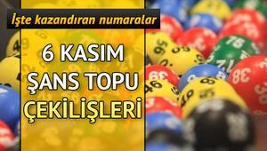 6 Kasım Şans Topu çekiliş sonuçları belli oldu Milli Piyango Şans Topu sorgulama ekranı