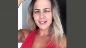 Brezilyalı ünlü manken Vanessa Vailatti, Galatasaraya başarılar diledi
