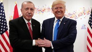 Son dakika Erdoğan ile Trump ile görüştü