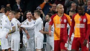 Galatasaraydan kötü rekor Şampiyonlar Ligi..