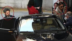 Gülben Ergen ile Emre Irmak Nişantaşında... Mal kabul kapısından çıktılar