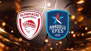 Olympiacos Anadolu Efes maçı ne zaman, saat kaçta hangi kanaldan canlı yayınlanacak