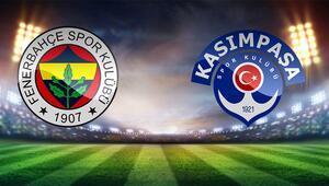 Fenerbahçenin konuğu Kasımpaşa Aralarındaki son 13 maçta...