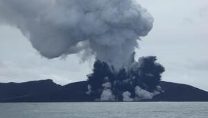 Tongada denizaltı yanardağı patladı, bir ada battı, üç kat daha büyük bir ada doğdu