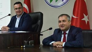 Kıpçak Belediye Başkanı Oleg Garizan'dan Mustafakemalpaşa Belediyesi'ne dostluk ziyareti