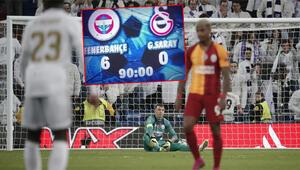 Galatasarayın 6-0 kabusu Fenerbahçe ve Real Madrid...