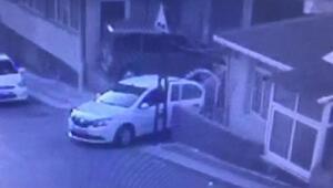 TEMde polisten kaçan hırsızlar kamerada