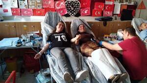 Okulda, kan ve kök hücre bağışı kampanyası