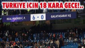 Türk takımlarının Avrupadaki faciaları