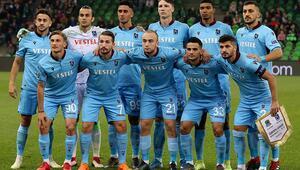 Trabzonsporda 4 oyuncu ilk kez sahada