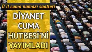 Cuma namazı saat kaçta kılınacak Diyanet 8 Kasım Mevlid Kandili Cuma Hutbesini yayımladı