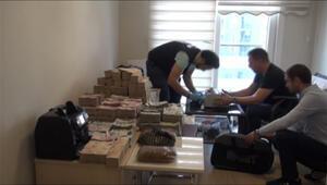Milyonları valizlerle rezidansa taşımışlar