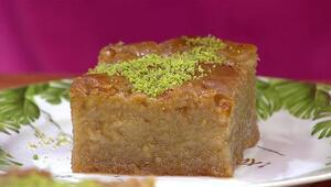 Nevzine nasıl yapılır Nevzine tatlısı malzemeleri ve tarifi